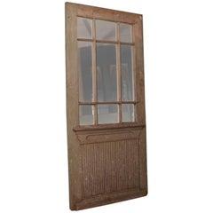 Antique Original Painted Swedish Door