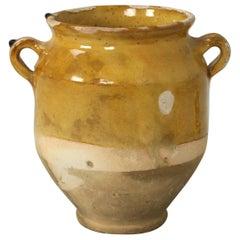 Original Old French Confit Pot