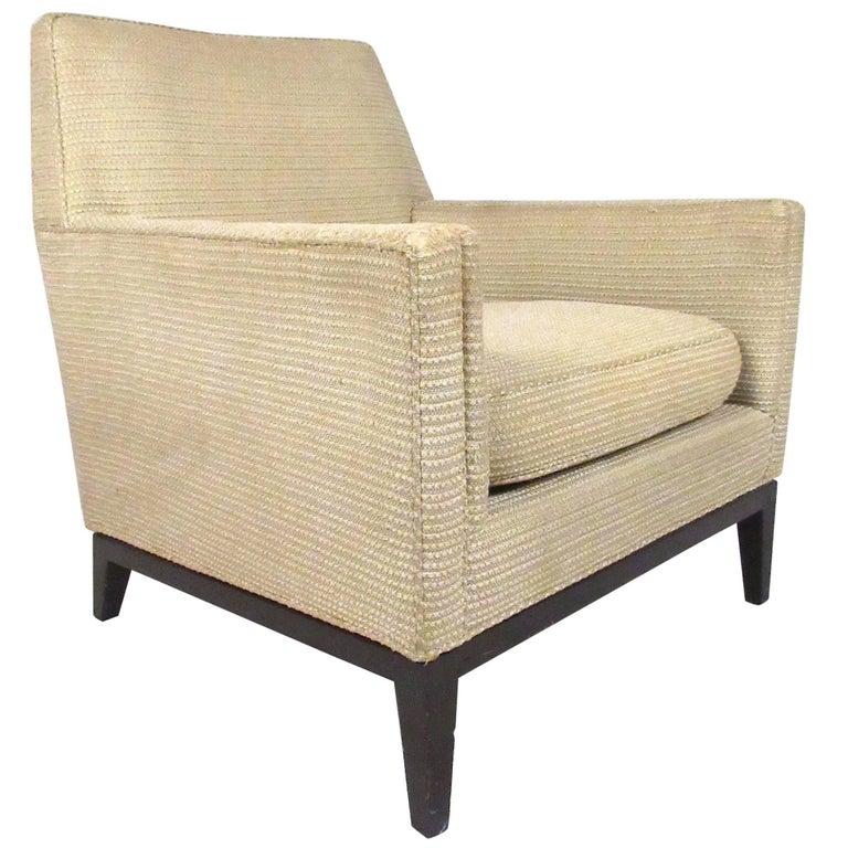Dunbar Lounge Chair by Edward Wormley For Sale