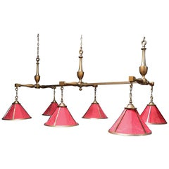 Billiard or Snooker Lamp Lutyens Inspired English Country House Style