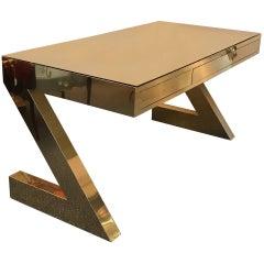 Chic Midcentury Modern Z Desk