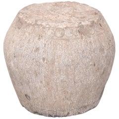 Chinese Petite Stone Drum