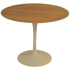 Mid-Century Modern Knoll Saairinen Tulip Table with Walnut Top