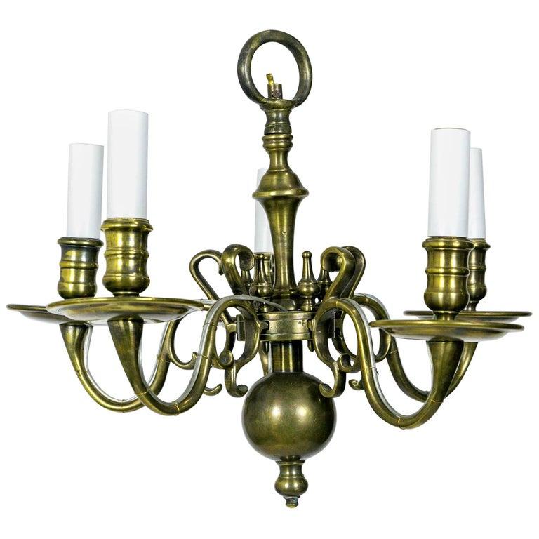 Fine petite colonial williamsburg chandelier for sale at 1stdibs fine petite colonial williamsburg chandelier for sale aloadofball Image collections