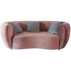 Sofa, Original Textile, circa 1970, France