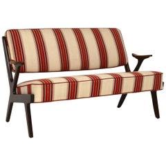 1960s Swedish Vintage Two-Seat Sofa