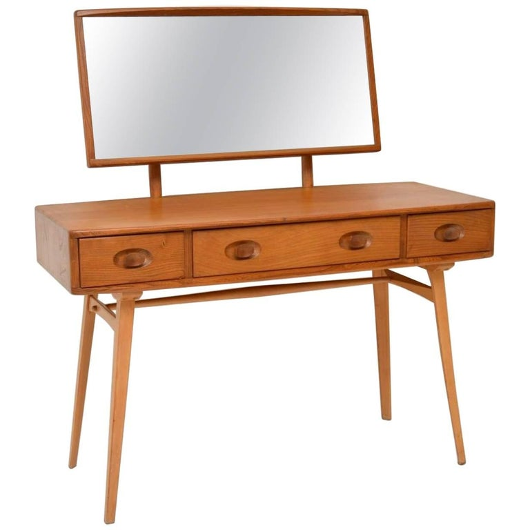1960s Vintage Ercol Dressing Table