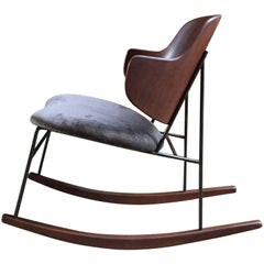 Ib Kofod-Larsen Penguin Rocking Chair