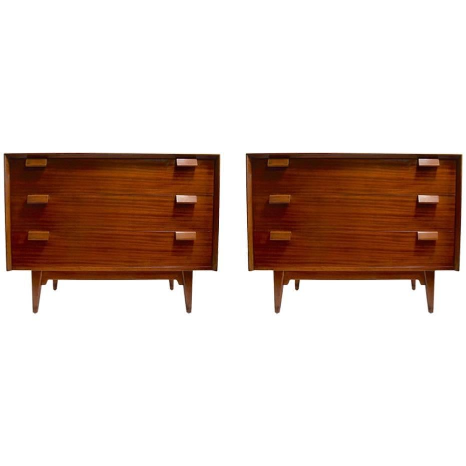 Pair of Bachelors Chests by  Jens Risom