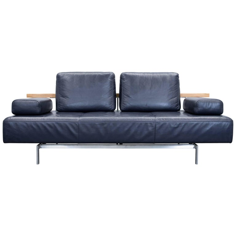 rolf benz dono designer sofa aubergine leather three seat couch modern at 1stdibs. Black Bedroom Furniture Sets. Home Design Ideas