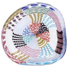 Murano Glass Bowl by Archimede Seguso