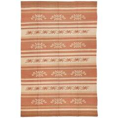Vintage Scandinavian Swedish Kilim Rug