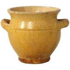 Antique French Confit Pot, Très Petite