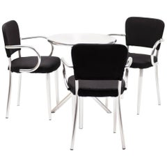 Multiple Chairs and Table Sets Designed by F.A. Porsche for Ycami