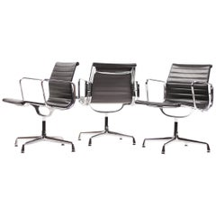 Eames Aluminium Group EA108 Chairs by Vitra