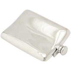 Cartier Sterling Silver Flask