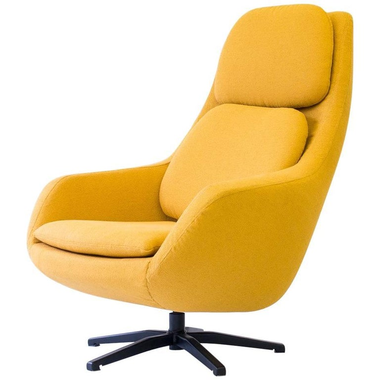 Robin Day Swivel Lounge Chair for Hille, UK, 1960s