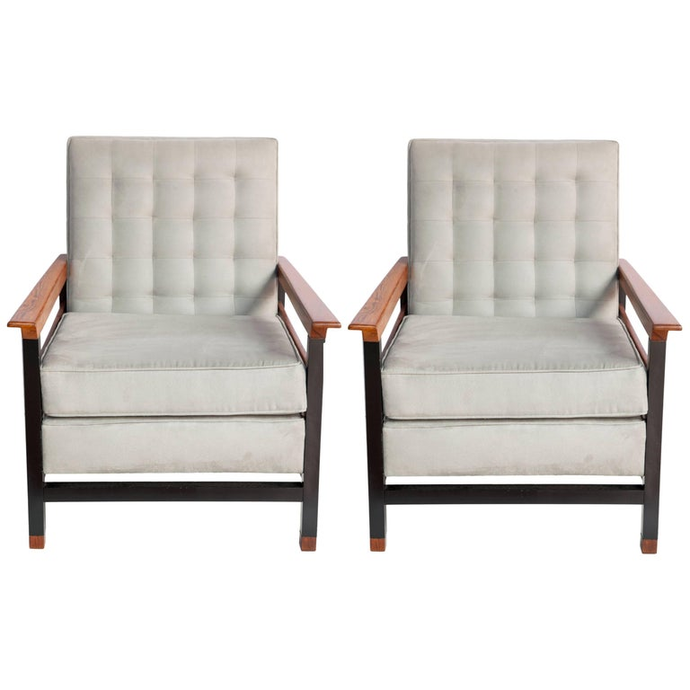 Mid century modern brazilian armchairs in jacaranda and aluminum for sale at 1stdibs - Brazilian mid century modern furniture ...
