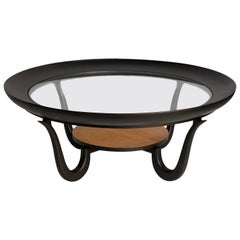 Giuseppe Scapinelli Mid-Century Modern Coffee Table in Brazilian Pau Marfim Wood