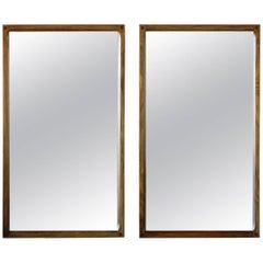 Pair of Aksel Kjersgaard Rosewood Mirrors