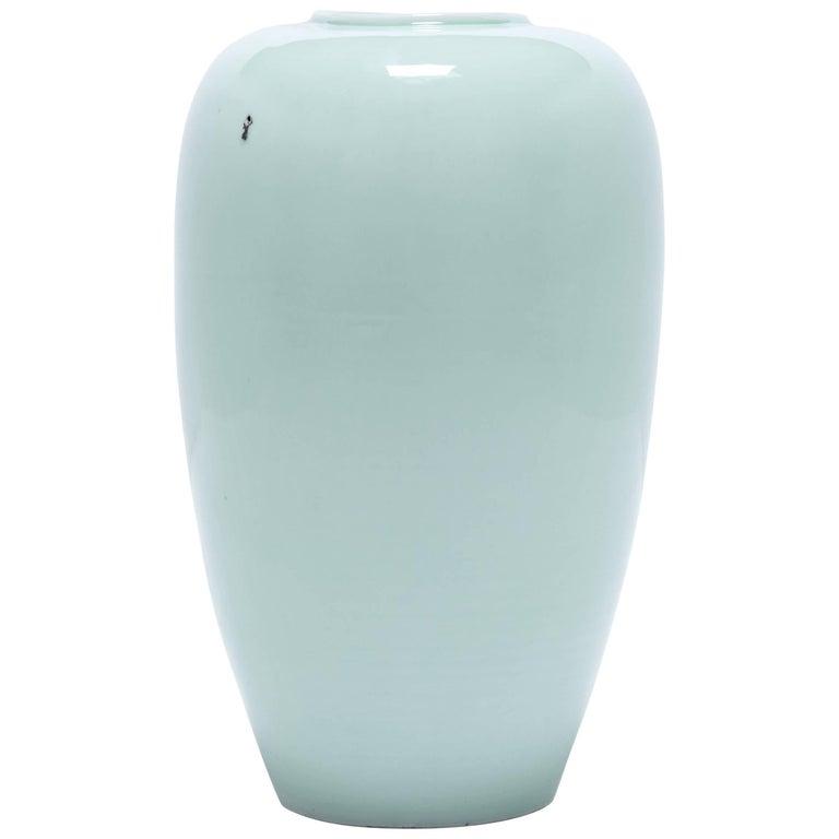 Chinese Celadon Taper Vase