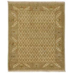 Vintage Indian Rug with Modern Traditional Style