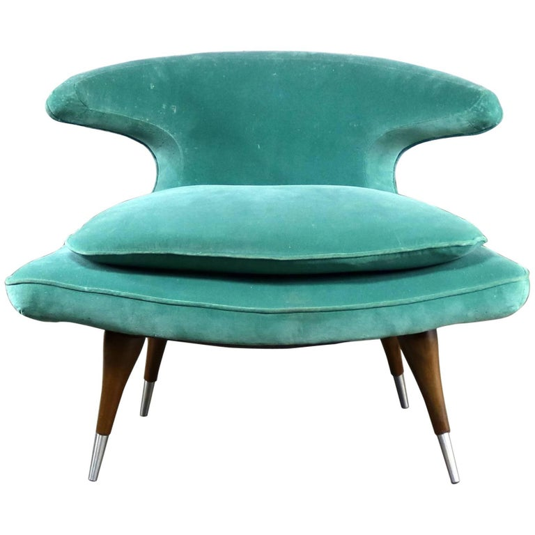 MCM Karpen Of California Horn Chair At 1stdibs