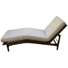 Danish Adjustable Chaise Lounge by Kofod Laresen for Selig