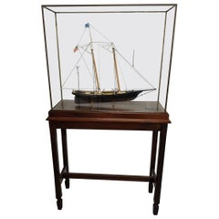 """20th Century Model Ship of the 1851 America's Cup Yacht """"America"""""""