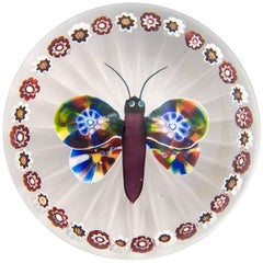 Baccarat Butterfly Paperweight