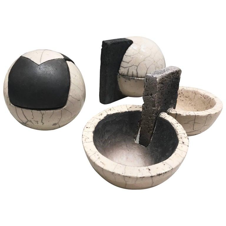 Decorative Raku Ceramic Objects