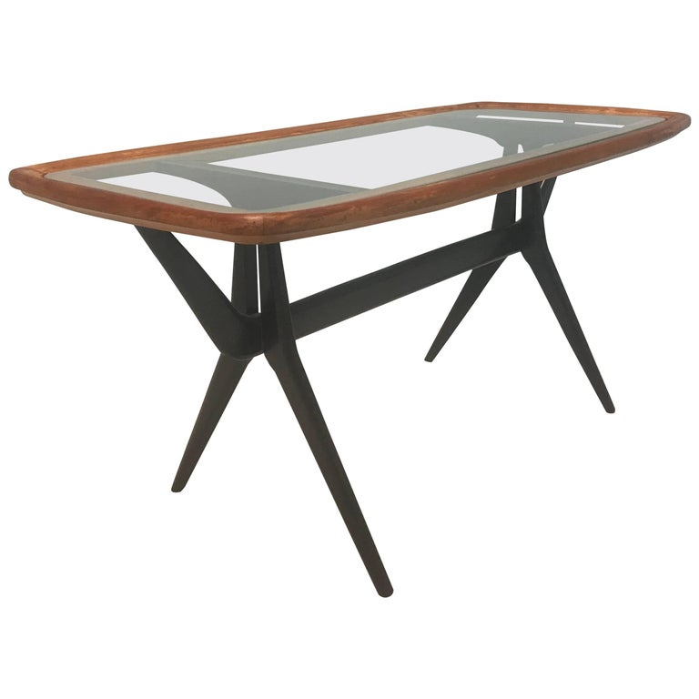 Midcentury Cesare Lacca For Cassina Coffee Table At 1stdibs