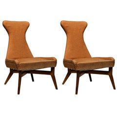 Pair of Side Chairs by Silvio Cavatorta