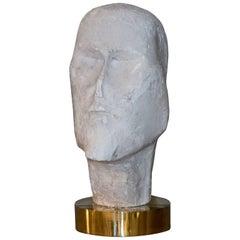 1960s Figurative Plaster Sculpture