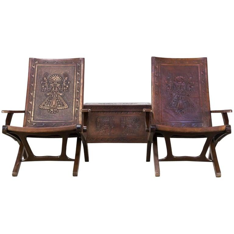 Angel Pazmino Folding Chair and Suitcase for Muebles de Estilo Set ...