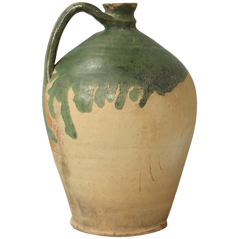 Antique French Pottery Jug