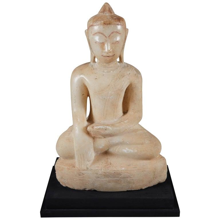 Burmese Alabaster Buddha, Early 19th Century