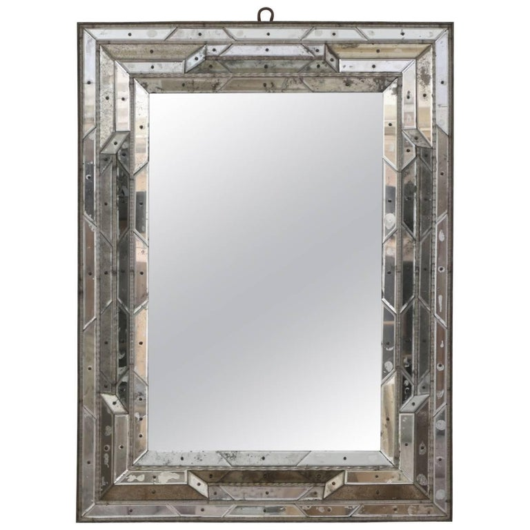 Segmented Venetian mirror, 19th century, offered by Black Rock Galleries