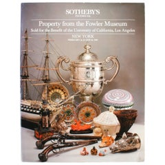 Sotheby's, Property from the Fowler Museum, NY