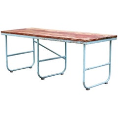 Industrial Dining Table For Sale At 1stdibs
