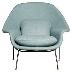Newly Upholstered Womb Chair by Eero Saarinen for Knoll, circa 1950
