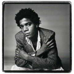 Vintage 1984 Silver Gelatin Photograph of Jean-Michel Basquiat