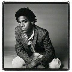 Vintage Silver Gelatin Photograph of Jean-Michel Basquiat