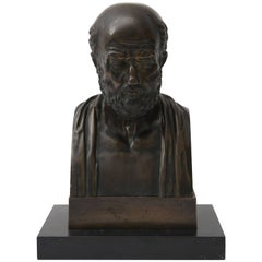 19th Century, Italian, Grand Tour Bronze of the Philosopher Homer