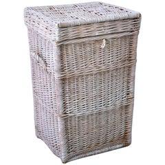 Vintage Wicker Basket Hamper