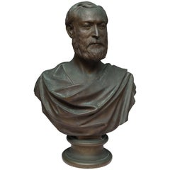 Bronze Bust of a Gentleman