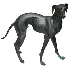 20th Century Bronzed Whippet