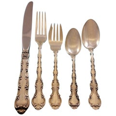 Strasbourg by Gorham Sterling Silver Flatware Set Service Place Size 40 Pieces