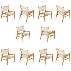 John Keal for Brown Saltman Petite Sculptural Lounge Chairs, circa 1954