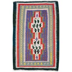 Vintage Persian Flat-Weave Kilim